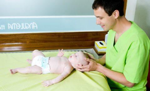 Osteopatía pediátrica plagiocefalia